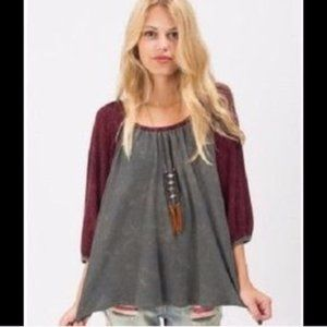 We The Free | Fastball Gathered Thermal Swing Top